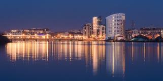 Εικονική παράσταση πόλης πεντάστιχων Στοκ εικόνα με δικαίωμα ελεύθερης χρήσης