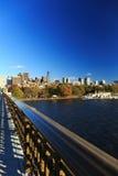 Εικονική παράσταση πόλης της Βοστώνης Στοκ εικόνα με δικαίωμα ελεύθερης χρήσης