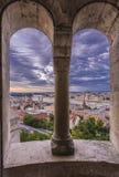Εικονική παράσταση πόλης της Βουδαπέστης Στοκ Εικόνα