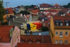 Εικονική παράσταση πόλης της Λισσαβώνας Στοκ φωτογραφίες με δικαίωμα ελεύθερης χρήσης
