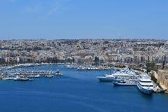 Εικονική παράσταση πόλης της Μάλτας Στοκ Εικόνες