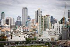 Εικονική παράσταση πόλης της Μπανγκόκ Ταϊλάνδη Στοκ Εικόνες