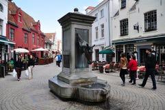 Εικονική παράσταση πόλης της Μπρυζ, Βέλγιο Στοκ Εικόνες