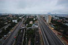 Εικονική παράσταση πόλης της Μόσχας Στοκ φωτογραφίες με δικαίωμα ελεύθερης χρήσης