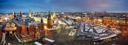 Εικονική παράσταση πόλης της Μόσχας Στοκ φωτογραφία με δικαίωμα ελεύθερης χρήσης