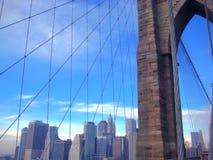 Εικονική παράσταση πόλης της πόλης της Νέας Υόρκης Στοκ Εικόνες