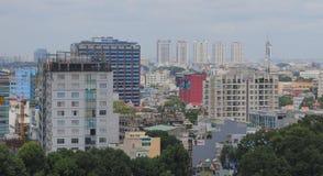 Εικονική παράσταση πόλης της πόλης του Ho Chi Minh Στοκ Εικόνα