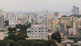 Εικονική παράσταση πόλης της πόλης του Ho Chi Minh Στοκ φωτογραφία με δικαίωμα ελεύθερης χρήσης