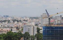 Εικονική παράσταση πόλης της πόλης του Ho Chi Minh Στοκ εικόνες με δικαίωμα ελεύθερης χρήσης