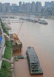 Εικονική παράσταση πόλης της πόλης Chongqing, Κίνα Στοκ Εικόνες