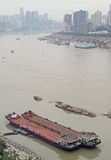 Εικονική παράσταση πόλης της πόλης Chongqing, Κίνα Στοκ Φωτογραφίες