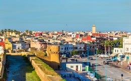 Εικονική παράσταση πόλης της πόλης EL Jadida στο Μαρόκο Στοκ Εικόνες