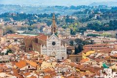 Εικονική παράσταση πόλης της Φλωρεντίας Ιταλία Τοσκάνη Στοκ Φωτογραφία
