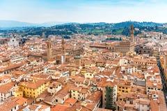 Εικονική παράσταση πόλης της Φλωρεντίας Ιταλία Τοσκάνη Στοκ εικόνα με δικαίωμα ελεύθερης χρήσης