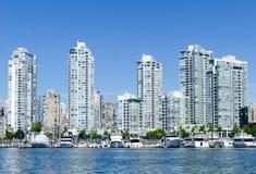 Εικονική παράσταση πόλης του Βανκούβερ, Βρετανική Κολομβία, ψεύτικος κολπίσκος του Καναδά â€ « Στοκ Φωτογραφία