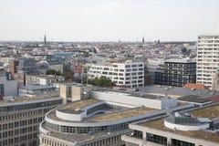 Εικονική παράσταση πόλης του Βερολίνου από τον πύργο καθεδρικών ναών, Στοκ εικόνα με δικαίωμα ελεύθερης χρήσης