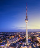 Εικονική παράσταση πόλης του Βερολίνου Στοκ εικόνες με δικαίωμα ελεύθερης χρήσης