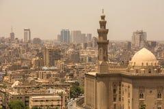 Εικονική παράσταση πόλης του Καίρου, Αίγυπτος Στοκ Εικόνα