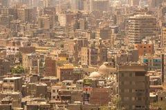 Εικονική παράσταση πόλης του Καίρου, Αίγυπτος Στοκ εικόνα με δικαίωμα ελεύθερης χρήσης