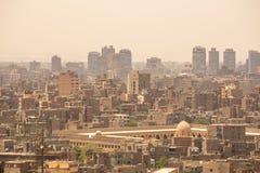 Εικονική παράσταση πόλης του Καίρου, Αίγυπτος Στοκ εικόνες με δικαίωμα ελεύθερης χρήσης