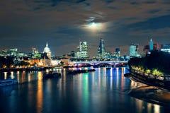 Εικονική παράσταση πόλης του Λονδίνου στοκ φωτογραφία