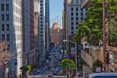 Εικονική παράσταση πόλης του Σαν Φρανσίσκο Στοκ φωτογραφία με δικαίωμα ελεύθερης χρήσης