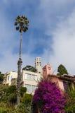 Εικονική παράσταση πόλης του Σαν Φρανσίσκο - Hill τηλέγραφων και πύργος Coit Στοκ Εικόνες