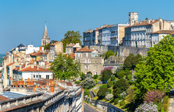 Εικονική παράσταση πόλης του Angouleme, Γαλλία Στοκ Φωτογραφίες