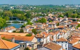 Εικονική παράσταση πόλης του Angouleme, Γαλλία Στοκ Εικόνα