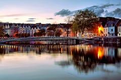 Εικονική παράσταση πόλης φελλού Στοκ Φωτογραφίες