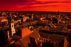 Εικονική παράσταση πόλης Στοκ Φωτογραφίες
