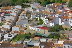 Εικονική παράσταση πόλης, Antequera, Ανδαλουσία, Ισπανία Στοκ Φωτογραφίες