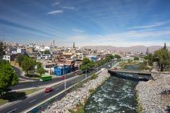 Εικονική παράσταση πόλης Arequipa, Περού Στοκ Φωτογραφίες
