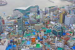 Εικονική παράσταση πόλης Busan Στοκ εικόνα με δικαίωμα ελεύθερης χρήσης