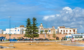 Εικονική παράσταση πόλης Essaouira, μια περιοχή παγκόσμιων κληρονομιών της ΟΥΝΕΣΚΟ στο Μαρόκο Στοκ Φωτογραφίες