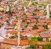 Εικονική παράσταση πόλης Goreme σε Cappadocia, Τουρκία Στοκ φωτογραφία με δικαίωμα ελεύθερης χρήσης