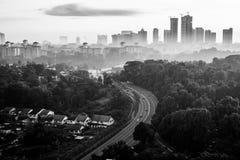 Εικονική παράσταση πόλης Johor Bahru Στοκ Εικόνες