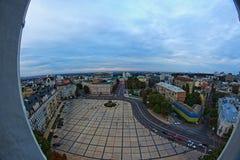 Εικονική παράσταση πόλης Kyiv Στοκ Φωτογραφία