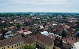 Εικονική παράσταση πόλης Oradea Στοκ Εικόνες