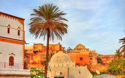 Εικονική παράσταση πόλης Safi, μια πόλη στο δυτικό Μαρόκο στον Ατλαντικό Ωκεανό Στοκ φωτογραφίες με δικαίωμα ελεύθερης χρήσης