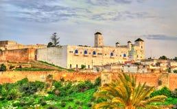 Εικονική παράσταση πόλης Safi, μια πόλη στο δυτικό Μαρόκο στον Ατλαντικό Ωκεανό Στοκ φωτογραφία με δικαίωμα ελεύθερης χρήσης