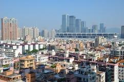 Εικονική παράσταση πόλης Shenzhen Στοκ Φωτογραφίες