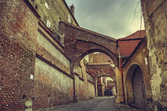 Εικονική παράσταση πόλης, Sibiu, Ρουμανία Στοκ φωτογραφία με δικαίωμα ελεύθερης χρήσης