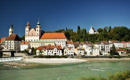 Εικονική παράσταση πόλης Steyr στοκ εικόνα με δικαίωμα ελεύθερης χρήσης