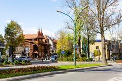 Εικονική παράσταση πόλης Zakopane Στοκ Εικόνα