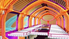 Εικονική σκηνή του εσωτερικού περιβάλλοντος sci-Fi στοκ εικόνες