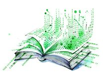 Εικονικό βιβλίο στοκ εικόνες με δικαίωμα ελεύθερης χρήσης