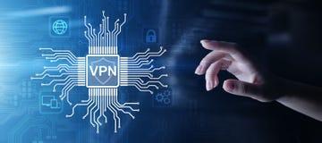 Εικονικό ιδιωτικό κουμπί έννοιας τεχνολογίας πληρεξούσιου SSL ασφάλειας πρόσβασης Διαδικτύου δικτύων VPN anonymizer στην εικονική στοκ φωτογραφία με δικαίωμα ελεύθερης χρήσης