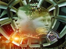 Εικονικό όνειρο Στοκ εικόνα με δικαίωμα ελεύθερης χρήσης
