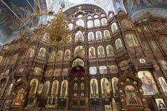 Εικονοστάσιο στον καθεδρικό ναό του ST Αλέξανδρος Nevsky Στοκ Φωτογραφίες